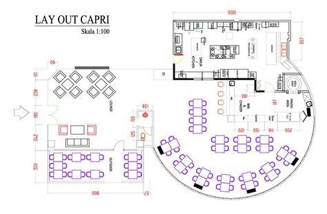 denah layout restoran desain cafe resto minimalis modern