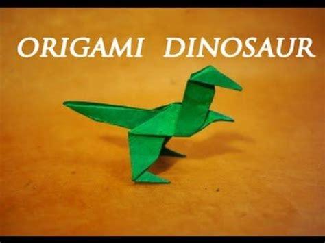 Simple Origami Dinosaur - the world s catalog of ideas
