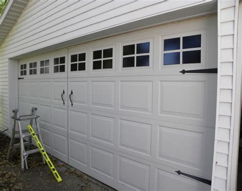 home depot paint garage door faux garage door windows house to home