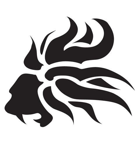 simple lion tattoo design tribal lion by thejay on deviantart