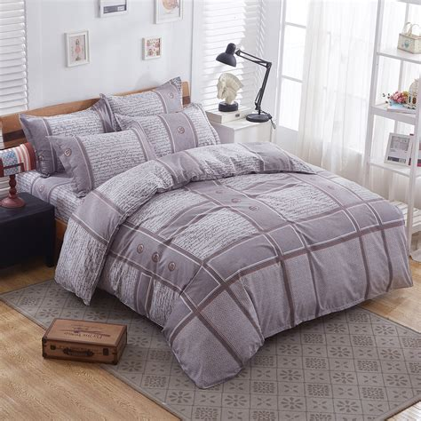 Size Of Single Quilt by Plain Duvet Cover With Pillow Quilt Cover Bed Set