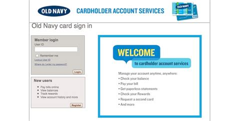 Can You Use Old Navy Gift Card At Gap - old navy credit card login make payments