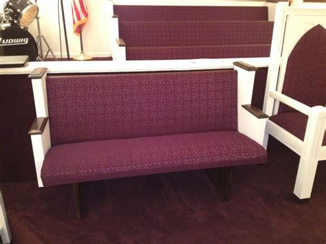 upholstery church pews church pew reupholstery