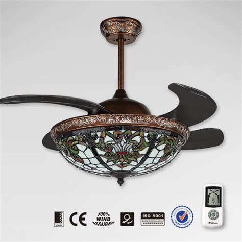ceiling fans with hidden blades new model retractable remote control ceiling fan with