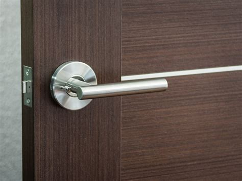 Interior Door Levers Modern Hardware For Modern Interior Doors By Milanodoors