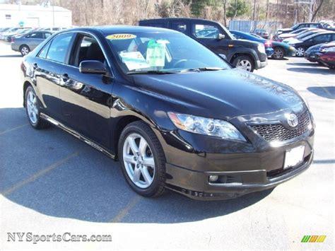 2009 Toyota Camry Se Black 2009 Toyota Camry Se In Black 293812 Nysportscars