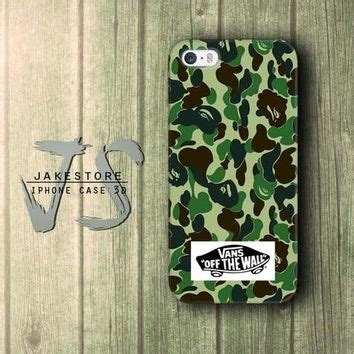 Iphone 4 4s Vans The Wall Army Bape Casing Hardcase best bape iphone 6 products on wanelo
