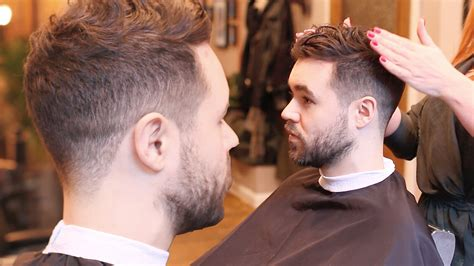Men?s Fade Haircut   For Curly Hair