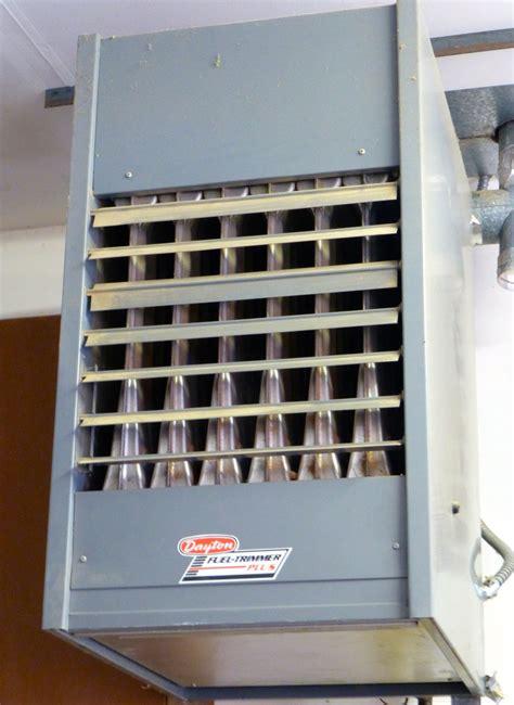 garage astonishing garage heater ideas garage heater