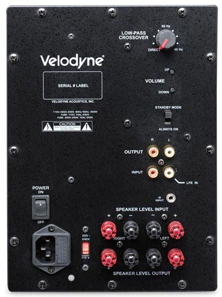 plug subwoofer  receiver avs forum home
