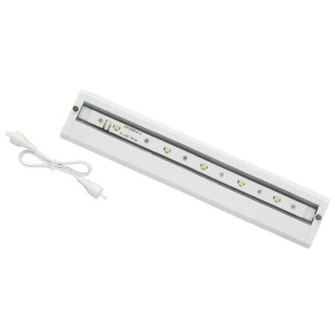 lowes under cabinet lighting shop utilitech 10 in plug in under cabinet led light bar