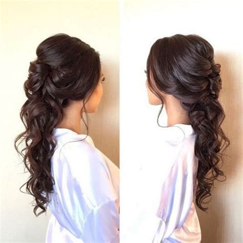 hairstyle ideas for debut 80 beautiful and adorable half up half down wedding