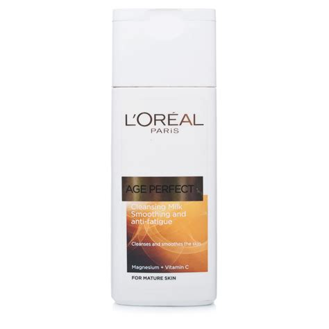 Shoo Loreal Smooth l oreal age cleansing milk chemist direct