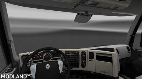 renault truck interior renault premium interior exterior rework mod for ets 2