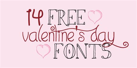 happy valentines day font 14 free s day fonts