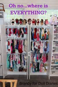 closet dividers for your dolls doll diaries