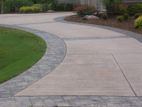 backyard driveway ideas sted concrete driveways ideas best sted concrete