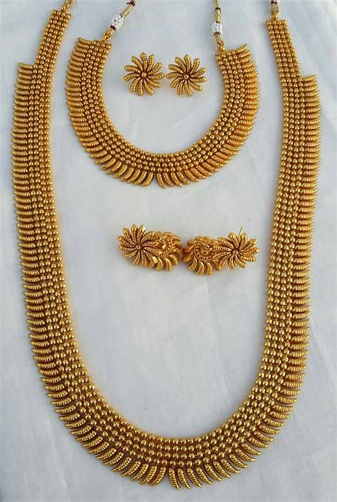 56 south indian gold necklace designs simple gold