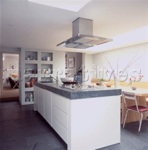island extractor fans for kitchens jb135 04b kitchen island with stainless steel extracto narratives photo agency