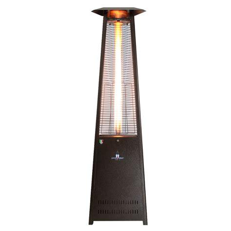 Italia Patio Heater by Italia Triangular 8 Ft Commercial Patio Heater