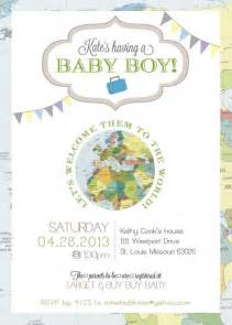 welcome to the world baby shower travel welcome to the world baby shower invitation the o
