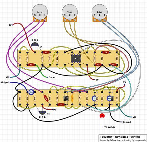 ibanez ts808hw screamer schematic ibanez get free