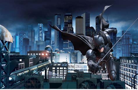 batman wallpaper decor batman dark knight rises giant wallpaper accent mural