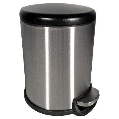 target kitchen trash cans 5 liter trash can stainless steel room essentials target