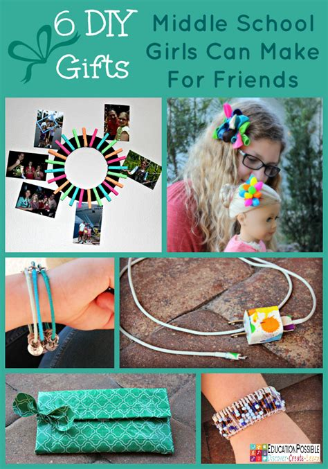 new year crafts for middle school 6 diy gifts middle school can make for friends