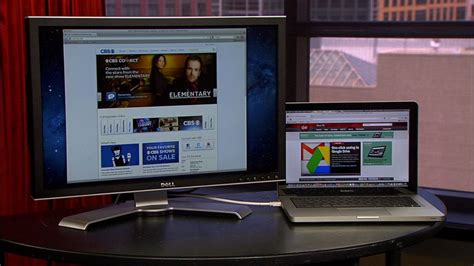 Can I Hook Up External Monitors To My Mba by How To Set Up Dual Monitors In Windows 7 Cnet
