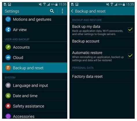 how to reset samsung galaxy s5 simple and easy methods steps how to factory reset the galaxy s5 for better performance