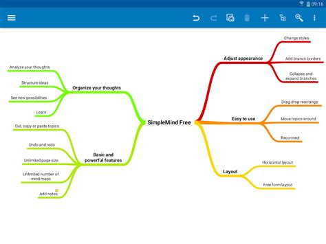 free mind map simplemind free intuitive mind mapping android apps on