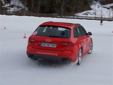 Fahrtraining Audi by Drifttraining Mit Einem Audi S4 In Saalbach Auto Motor
