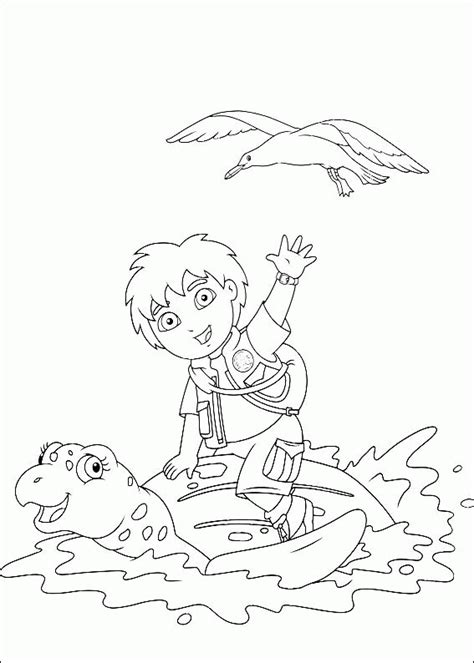 Go Go Coloring Pages go diego go coloring pages coloringpagesabc