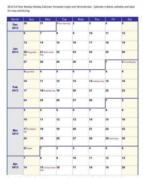 4 Month Calendar 2017 2016 Printable Blank Calendar By Month Calendar Template