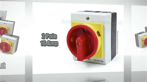 rotary isolator switches