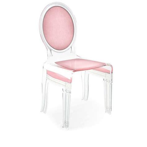 chaise medaillon transparente chaise transparente sixteen en plexiglass