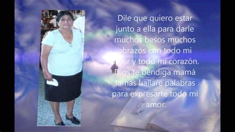aniversario de muerte de mi suegra 2 a 241 os del fallecimiento de mi madre ana maria youtube