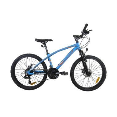 Tabibitho Sepeda Gunung Mtb 27 5 Fireball 1 0 Aloy 24 Speed Grey Ag sepeda gunung jual sepeda gunung harga murah blibli
