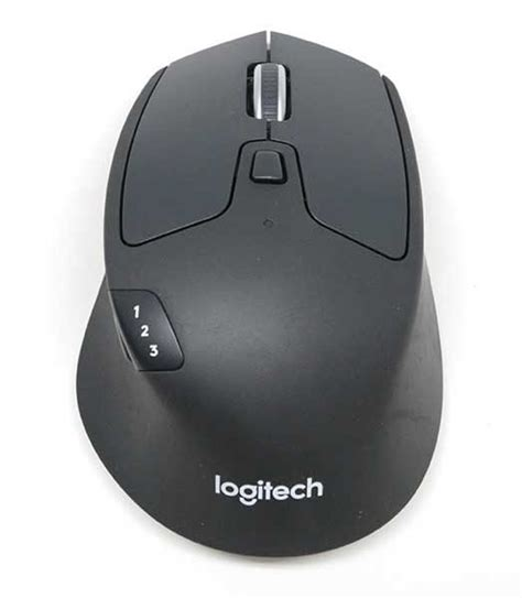 Logitech M720 logitech m720 triathlon multi device wireless mouse review