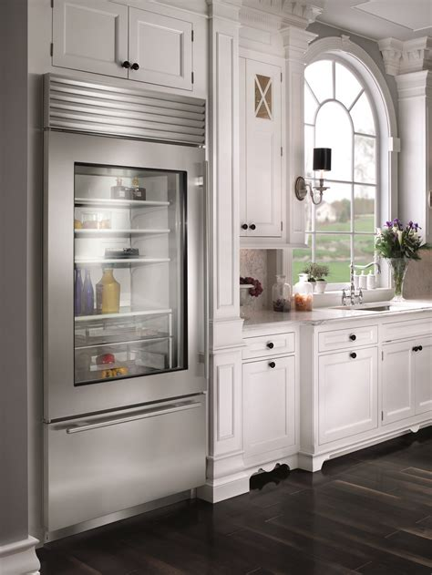 Clear Door Fridge by Built In Refrigerator Differences Momentum Construction