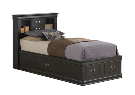 black twin bed with storage mattress world furniture philadelphia pa black twin