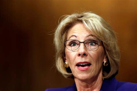 betsy decos the betsy devos confirmation debacle the new yorker