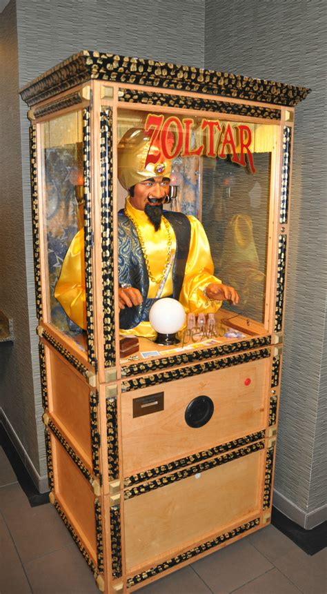 Zoltar A Novelty That Tells Your Fortune And Costs A Small Fortune by Zoltar Fortune Teller Machine Agr Las Vegas