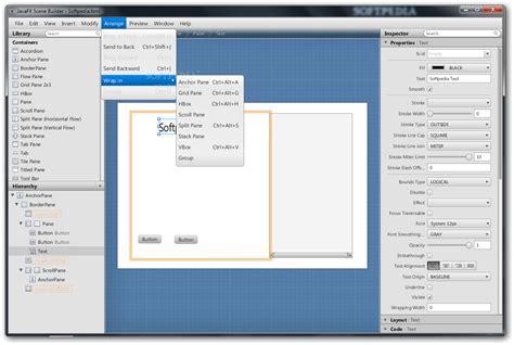 design html netbeans gui designer netbeans javafx gui designer