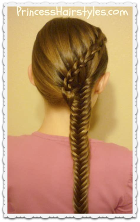 how to do hard hairstyles scissor waterfall braid fishtail combo hairstyles for