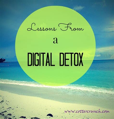 Digital Detox Length by Lessons From A Digital Detox