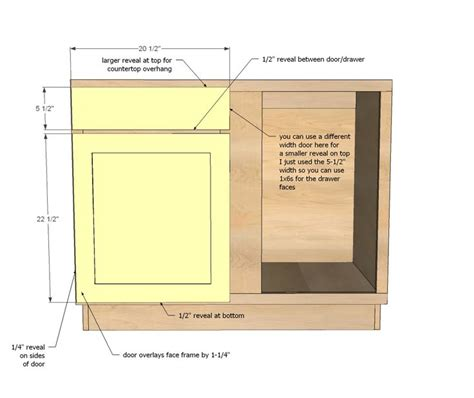 how to build a blind corner cabinet 1000 images about medidas de gabinetes on pinterest
