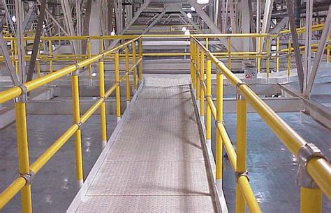 guardrails and handrails applied handling