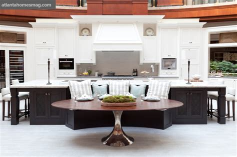kitchen island with banquette a feast for the eyes ah l